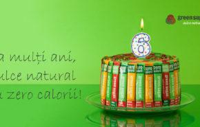 Concurs aniversar Green Sugar – 6 ani dulci si sanatosi