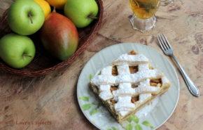 Tartă fragedă cu mere
