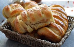 Pariziene umplute cu mere, morcovi si nuci