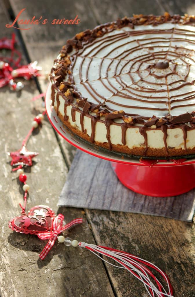 Cheesecake la rece, cu ananas si ciocolata