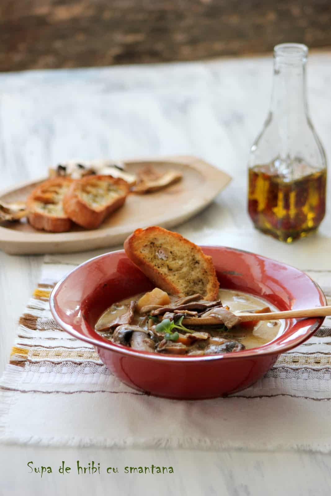 supa ciuperci